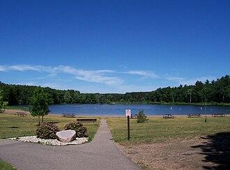 Hartman Creek State Park - Hartman Lake