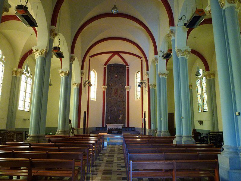 Haulchin (Nord, Fr) église, intérieur