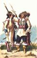 Hauptmann und Musketier von Hoch- und Deutschmeister 1696.png
