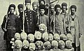 Heads of Turcoman chiefs stuffed with straw and brought to Teheran (cropped).jpg