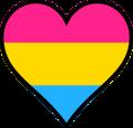 Heart Pansexual Panromantic Pride.png