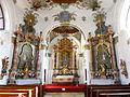 Heilig-Geist-Spitalkirche Füssen Altarraum.JPG