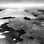 Heilprin Glacier, Calving Ice Cap, July 24, 1964 (GLACIERS 1705).jpg