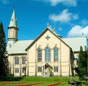 Heinävesi - Image: Heinävesi Church 6