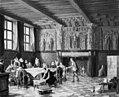 Heinrich Hansen - Et krigsråd i Salle des Francs i Brügge omkring år 1600 - KMS746 - Statens Museum for Kunst.jpg