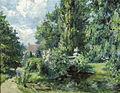Heinrich Schlotermann Im Park eines Gutshauses.jpg
