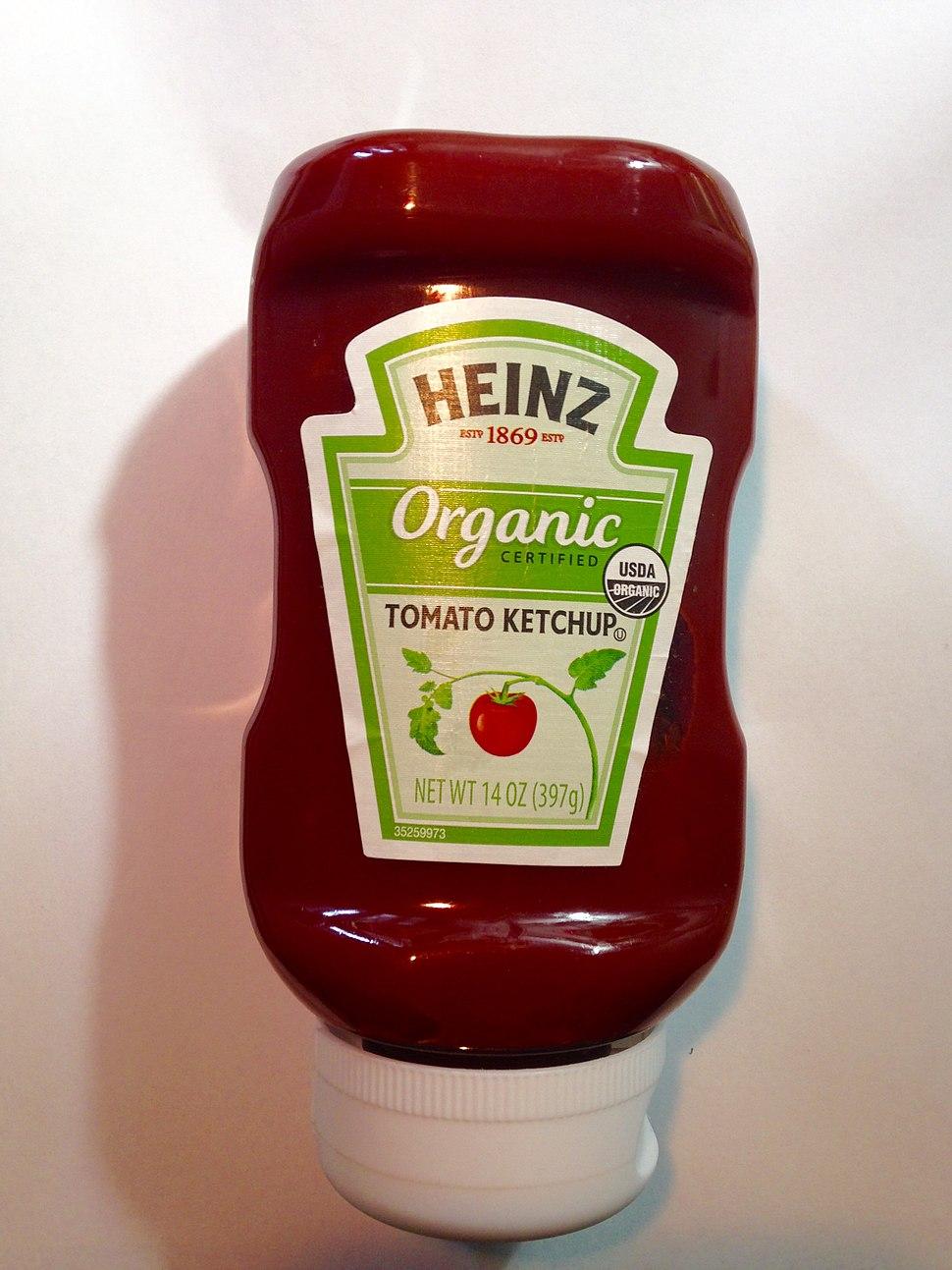 Heinz USDA Organic Tomato Ketchup