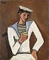 Helmut Kolle Jeune homme en tenue de marin.jpg