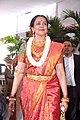 Hema Malini at Esha Deol's wedding at ISCKON temple 20.jpg
