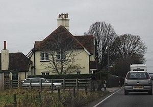 Henbury, Dorset - Image: Henbury Cottages (geograph 2844149)