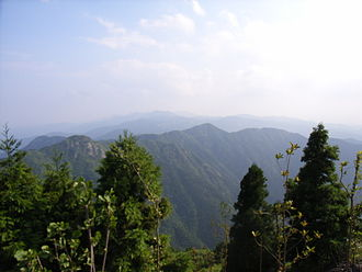 Mount Heng (Hunan) - Image: Hengshan Mountains