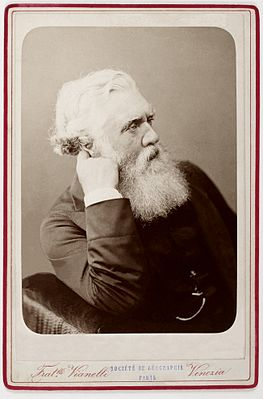 Остин Генри Лейард, масло, ок. 1890 г.