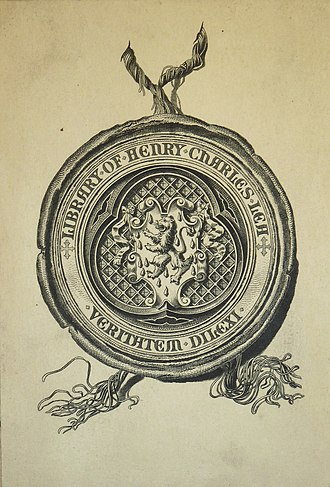 Henry Charles Lea - His bookplate