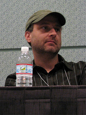 Henry Gilroy - At the 2008 Screenwriting Expo