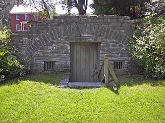 Herkimer House underground storage.jpg