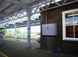 Herne Bay railway station - Image: Herne Bay railway station platforms in 2009
