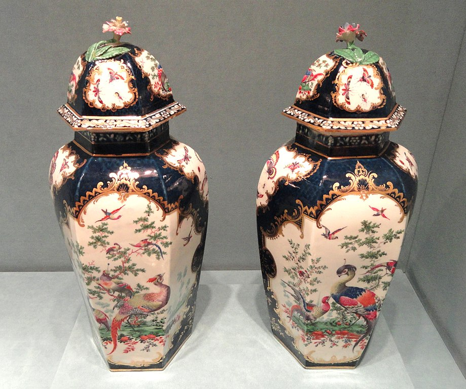 Fichier hexagonal jars worcestor porcelain company for Indianapolis painting company