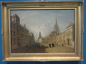 High Street, Oxford (painting) - Image: High Street, Oxford (painting), by Turner (1810)