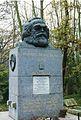 Highgate Cemetery, London - Karl Marx grave.jpg
