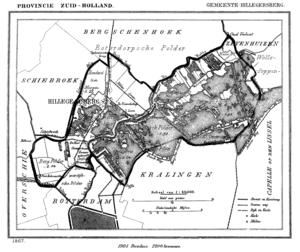 Hillegersberg - Hillegersberg in 1867.