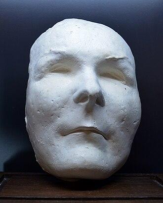 François de Charette - Death mask of François de Charette