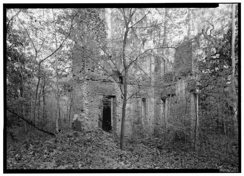 File:Historic American Buildings Survey Photographer C.O. Greene April 1940 INTERIOR - The Elms (Ruins), University Boulevard (U.S. Route 78), Otranto, Charleston County, SC HABS SC,8-OTRAT,1-1.tif