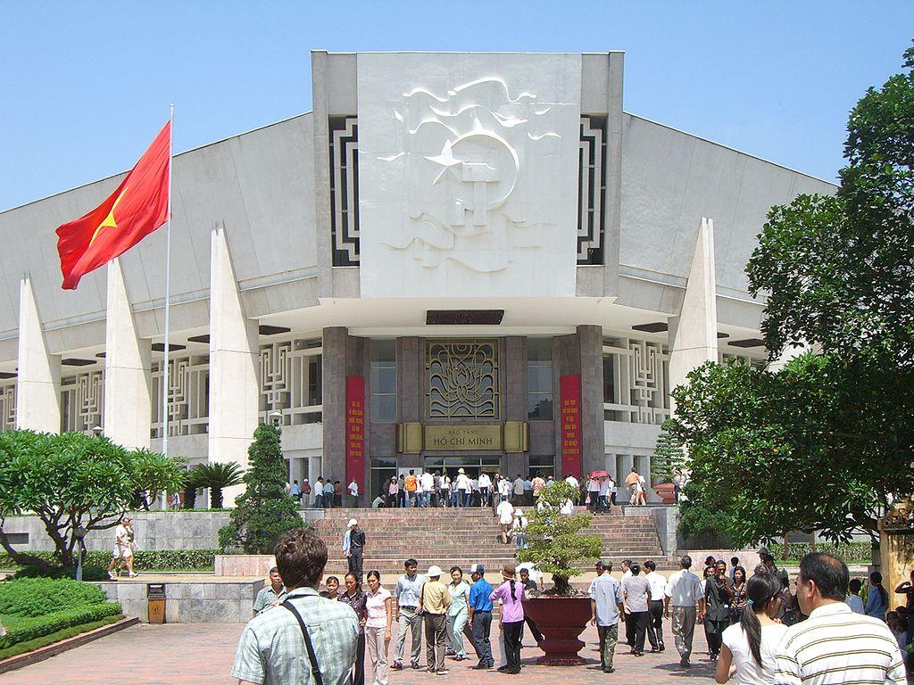 Musée Ho Chi Minh près du mausolée du leader vietnamiem - Photo de Aaron