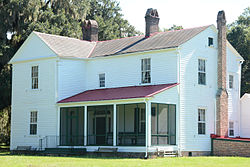 Hofwyl-Broadfield Plantation, back view, Glynn County, GA, US.jpg