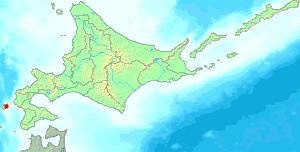 Okushiri Island - Image: Hokkaido Okushiri town