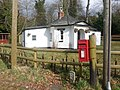 Holmsley South, postbox No. BH23 25 - geograph.org.uk - 1184230.jpg