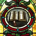Holy Angels Catholic Church (Sandusky, Ohio) - Holy Bible.JPG
