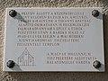 Holy Trinity church, plaque, 2018 Balatonlelle.jpg