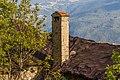 Homene Dessus, Combellin, Valle d'Aosta. Detail van oud huis 01.jpg