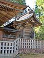 Honden of Sakamine-jinja shrine in Haramachi ward.JPG