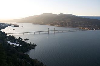 Hood River, Oregon - Hood River Bridge