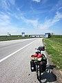 Horgoš (Хоргош), Vojvodina, Serbia. E-75 motor(^)way, coming into Serbia just south of the border crossing from Hungary. - panoramio.jpg