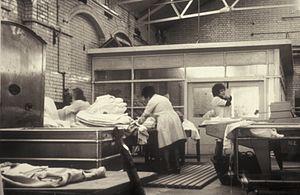 Hospital laundry, 1970s (14652302452).jpg