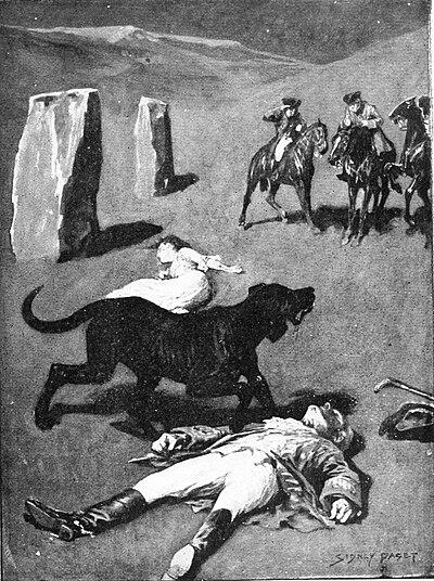 Black Dog Baskerville Ancient Pathways