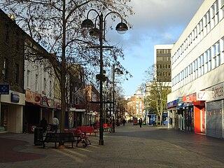 Hounslow town in west London