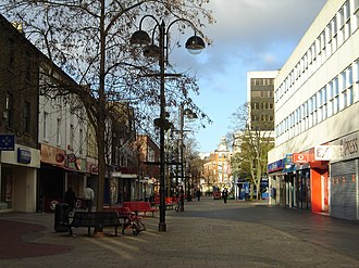 Hounslow - Image: Hounslow High Street.1