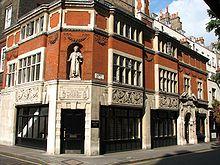 Casa de Tomás Moro en Carey Street,Londres, frente a losReales Tribunales de Justicia. Allí se lo conmemora con una estatua que lo representa.