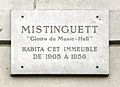 House where Mistinguette lived, Boulevard des Capucines, Paris.jpg