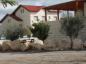 Aderet, Israel - Image: Houses in Aderet, March 2015
