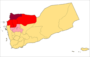Operation Scorched Earth - Image: Houthi map