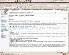 চিত্র:How to create a Wikipedia article - Right to science and culture.ogv