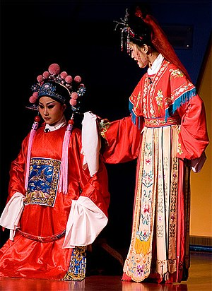Jo Riley - An example of Huangmei opera performance.