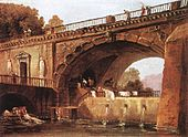 Hubert Robert - Washerwomen below a Bridge - WGA19606.jpg