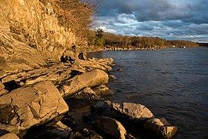 Margaret Lewis Norrie State Park - Image: Hudson River at Norrie State Park