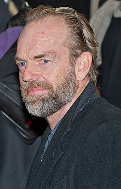 Hugo Weaving i februari 2014