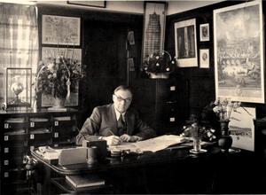 László Hudec - László Hudec around 1934